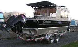 ?Brand New? BLACK 2009 25? TJ Offshore Powered by twin 115 HORSEPOWER Suzuki motors W/stainless steel propellers This boat is equipped with the standard features