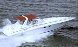 NEW ENGINES / DRIVES / BATTERIES IN JULY 2010 - $50,000 VALUE! The Fountain 38 Express Cruiser is a powerful deep-V cruiser that brings luxury into the fast lane. She is known as the fastest, best-handling boat in her class. She has a large open cockpit