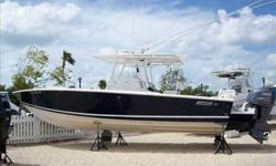 2006 Jupiter 30 SPORTFISH A great looking, soft riding offshore performer. One Owner/dry stored since new. Just 315 hours on dependable F-250 Yamaha's. For more information please call