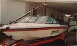 1999 20 feet Malibu Skiboat. 350 Chevy Inboard with 340 hours. Boat is like new. ALWAYS Garaged. Compact disc player, Heater, Hot and Cold shower, Side boom for barefooting, Mast for wake boards. Trailer is also like new, Has New tires and Chrome Wheels.