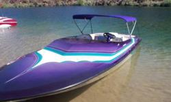 1999 Caliber 1 206 Magnum, (21 FT) 454 Big block naturally aspirated, GPS top speed with 2 adults 62 MPH, Legend jet blueprinted by Greg Shoemaker, SS impeller, intake grate, Hydraulic Place Diverter, Electric Jet-A-Vator, New bimini top, 383 Hours, tilt