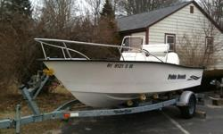 2001 Palm Beach Whitecap 181, 115 Johnson Oceanrunner, this boat is clean and has never been bottom painted. Low Hours, boat, motor, and trailer. can be seen at Breachway Bait & Tackle..Charlestown RI....excellent condition.
