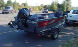 25 ELPT4S MERCURY 4-STROKE EAGLE FISH FINDER MINN-KOTA ELECTRIC BOW MOUNT MOTOR SIDE CONSOLE W/SMALL WINDSHIELDS DUAL BATTERIES LIVE WELL COVER EZ-LOADER GALV. TRAILER.....EXCELLENT CONDITION!503-933-4484