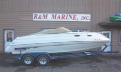 ON CLEARANCE NOW! SAVE THOUSANDS COMPARED TO OTHER HIGH END MARADA BOATS!Compare this one at 1 year older for 18K http