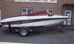 2001 Reinell Millennium Edition Wow! This BOAT is HOT! Super nice inside and out, voluptuous body, great curves and this gal saves you money! Brand new 4.3 L V6 engine, installed a few seasons ago, with so little hours on it you will have to finish the
