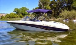 Selling our 2002 Reinell 190. Beautiful boat in great condition. Many extras. Boat has never been in salt water and has been serviced yearly (Oil, Plugs, Lube). Trailer has detachable tongue that allows the boat to fit into most garages.Seats 7 with an