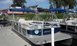 Call 651-695-3780 with any questionsSave thousands over new retail! Support your local Weeres Pontoon Dealer, made right here in Minnesota. Four identical boats to choose from! All identical motors (25 HP fourstoke EFI) Need to upgrade to a new 50