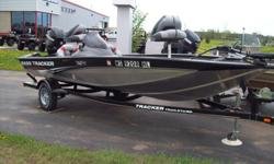We have a Great 17' Bass Tracker with 60 Mercury feel free to stop in any time between 8