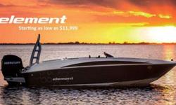 CHECK OUT ZERO DOWN PROMO ON ELEMENT, WE'LL BE AT THE HARTFORD BOAT SHOW TO TAKE ORDERS FOR THIS ALL NEW MODEL160 EL ELEMENT. AS ADVERTISED BY BAYLINER AT THE NEW YORK BOAT SHOW. BASEPRICE BOAT OF THE BOAT IS $11,999. THIS PRICE DOES NOT INCLUDE INLAND
