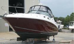 EXTREMELY LOADED and IN MINT CONDITION. THERE ARE A LOT OF SEA RAYS ON THE MARKET BUT YOU WILL NOT FIND ANOTHER ONE LIKE THIS ONE. This Sundancer was Custom Ordered in 2006 with all available options. Upgrades to standard equipment as follows