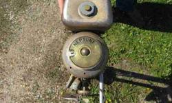 I have a 1950 (One and 2/10) Horse Neptune Boat Motor for sale. Serial# E2312 RG, Model# WC1. Original paint. $125.00 CASH ONLY. Call with any questions. 507-451-0807 Lynn Thank YouListing originally posted at http