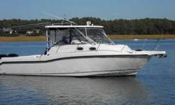 2007 Boston Whaler 305 CONQUEST 2007 BOSTON WHALER 305 CONQUEST. GREAT FISHING BOAT! TWIN 250hp MERCURY VERADOS WITH 300 HOURS. CUDDY FOR OVERNIGHT. HARD TOP WITH FULL ENCLOSURE. WINDLASS, NORTHSTAR GPS/ CHARTPLOTTER . SMARTCRAFT SYSTEM. CALL MARTY