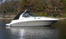 2007 Sea Ray 320 SUNDANCER Sea Ray has been setting the standards for express cruisers for some 30 years and this 2007 320 Sundancer delivers just the right blend of style, comfort and performance. Sea Ray?s dedication to quality is clearly evident in the