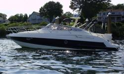 2003 one owner Italian made yacht. She is sleek and fast with a top speed of 40 knots. Seldom seen on the market, this is a very popular model.
