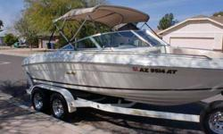 """1997 Sea Ray 190 Signature w/ 5.7L V8 - $12000 (E. Mesa) 1997 Sea Ray 190 Signature """"Private Party Sale, No Tax!"""" 2nd Owner, Arizona Fresh Water Boat, Only 377 Original Hours on Mercruiser 5.7L 350cui V8 and Alpha One Drive, Stainless Prop, Bimini Top,"""