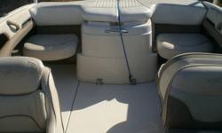 """Email me for pics call or txt me anytime at 1(512)577-1772 Mercruiser 4.3 Liter V6 8' 5"""" Beam 40 Gallon Gas Tank Flip Up Bolster Captains Chair PlayPen Bow Ice Chest In Dash Bow Wind Deflector Anchor Storage In Bow Large In Floor Storage Rear Seats"""