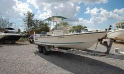 2001 Sea Pro 2300 BAYBOAT This is a fishing machine at an affordable price! This boat offers lots of fishing space, two livewells and a foot controlled Motor Guide Great White 24V trolling motor with new batteries. With a state of the art Lowrance Elite
