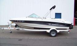 2005 Sea Ray 180 SPORT Very nice Sea Ray 180 Sport. Snap-In Carpets, Bow & Cockpit Covers, Bimini Top, Depth Finder, AM/FM/CD Stereo, Ample Storage and Low Hours! Stop by and see this boat today! For more information please call