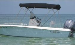 """Nice- 2005 Sailfish 186cc with 2004 115 HP Yamaha. motor has been well maintained with yearly maintenance and runs great. boat includes custom 1"""" stainless 8' bimini, bow cushion,helm seat,console, and motor covers. on board ice chest,live well,led pop up"""
