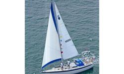 This 1976 Irwin 33 MK-II is located in Winthrop, Massachusetts and is available for showing by appointment only.TAMBOR is a vintage Ted Irwin designed fiberglass sloop that was built during an era when hull thickness was the priority; so she is solid and