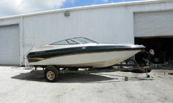 1999, 18' CROWNLINE 182 BOW RIDER with Trailer Included Single 205 HP V-6 Gas MerCruiser 4.3L & Alpha 1 Outdrivew w/SS Prop Asking Price