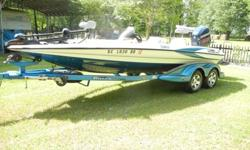 TRITON TR20 225HO EVINRUDE RUNS GREAT HAVE DEAPTH FINDER AND GPS GOES WITH ALSO SEATS ARE TEARING BUT ONLY THING WRONG WITH BOAT HAVE MORE PICS IF INTERESTED