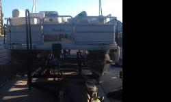 2005 Sun Tracker Pontoon $12,500 2005 Sun Tracker 21ft Pontoon Boat with Trailer. 90hp Mercury Outboard. In great condition with lots of extras. Contact