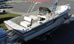 25' Proline, 1990, Center Console S/F, 1488hrs. 2 Johnson 150 hp Ocean Runners, Exc. cond., GPS, Fish/depth, VHF, AM/FM, Ideal for Gulf/ Bay, Suitable for Charter fishing, $12,500, 941-718-0988