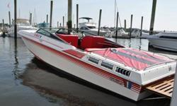 27 ft. Wellcraft Spyder, twin 350 Mag engines, new batteries, low hours, alpha drives with tiebar, clean interior, mouring cover, twin axle trailer, excellent condition
