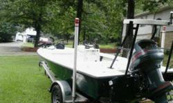 awesome condtion in every way and barely 100 hours!! all original garage kept nearly mint boat, no dissappointments here ready to fish ,,,,,,cash only , calls only no trades price firm 205 790