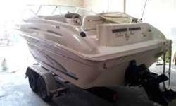 Outstanding deal on a Sea Ray 215 express cruiser. Has Mercruiser 5.0 V8 and on a trailer. Clean clean clean. and always been in fresh water never in salt. Has about 298 hours. Please call or email (click to respond) Listing originally posted at http