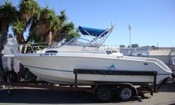 1995 Wellcraft 218 Coastal.repowered last year with a new 180hp 4.3L V6, Trail-Rite dual axle galvanized trailer. The boat is outfitted with. Dual batteries with switch Hydraulic trim tabs Custom under water lights 50 gallon live bait tank Two fish holds