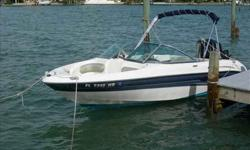 2006 Sea Ray 185 BOW RIDER For more information please call