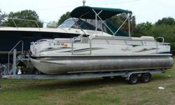 Fisherman model, 90HP Evinrude Etech, Tandem Galvanized Trailer, 2 Biminis, Stereo, Full Camper Canvas and full storage cover, ski tow bar. Price just reduced