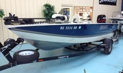 Selling a 2003 Misty Harbor Trophy 166c. This boat is water ready!! The only thing missing is YOU. Some of the features on the boat include