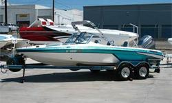 200 HP 2.5L V6 Mercury Mariner Magnum EFI Outboard, Bimini Top, Front & Rear Fishing Decks, Casting Chair, Swim Ladder, Front & Rear Trolling Motor Mounts, Trolling Motor, Fish Finder, Stereo, Tandem Axle Trailer and More!