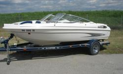 2001 Glastron SX175 Fish & Ski , Single Axe Trailer, Mercruiser 4.3 Motor 190HP, Depth Finder, Trolling Motor , Front Cover, Cockpit Cover , Travel Cover, Please Call 913-328-3153 Or 816-872-6070 Ask For Barry