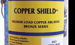 COPPER SHIELD outperformed Interlux Micron CSC, Fiberglass Bottomkote ACT, Bottomkote, Pettit Ultima SSA, West Marine CPP, Sea Hawk AF-33, CukoteCopper Shield is a high performance multi-season ablative with multi-season protection against hard and soft