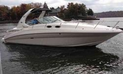 2007 Sea Ray 320 SUNDANCER Sea Ray has been setting the standards for express cruisers for some 30 years and this 2007 320 Sundancer delivers just the right blend of style, comfort and performance. Sea Ray's dedication to quality is clearly evident in the