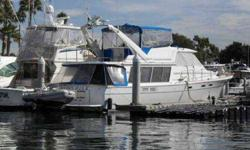See full set of photos of this boat and 80 other fine boats and yachts at Randall Burg Yacht and Ship ? google to see web site Very nice 45 Bayliner Pilothouse Motor yacht. Recent upgrades include new issenglass and canvas (in the process). Enginmes and