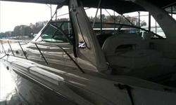 """2001 Sea Ray 41 SUNDANCER The 410 EXPRESS LOVES to RUN !!! 45 ft overall with a 13' 10"""" beam makes this boat one of the biggest you will find in her class... She handles like a sport boat and looks like the Sundancer but has a much better layout in the"""