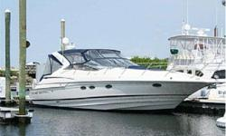 This really is an excellent opportunity for anyone looking for a 41' Express Cruiser. She's well built, has everything you and your family need for weekend get aways. To make an appointment to see her call Chris Carbonell at 954-232-8951 or email Chris at