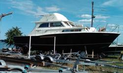 1966 38 Foot F.G. Bertrum Boat Former Boston Police Boat Twin 671's 13,000.00 or Best offer At East Boston Y. C. Call Francis Emmett at 617 569 1458 or Helen at 617 418 9962