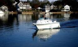 This well maintained, like new condition 1998, 23 foot, Sunbird Neptune 230 walk-around is located in Centerville, MA. The boat is powered by a 175 horsepower Salt Water Series Johnson outboard with less than 400 hours of use. The engine has been