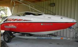 Very nice, lightly pre-owned 2005 Sea Doo Speedster 200 w/twin Rotax 370 powerplant. New wear rings, supercharger washers were updated to stainless when new, nice stereo w/iPod connection, new speakers, wake tower.CLEAN engine bay. This boat has been