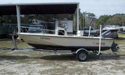 For sale is a Boston Whaler Outrage 17? in great condition with a Yamaha 90hp motor that has good compression. The boat has had a full service and has been gone through completely.-Bow rail-Fish Finder-Compass-New cushions-Dive ladder-SS prop-Skeg