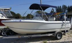 115 Yamaha 4-Stroke, Magic Tilt Trailer, Power Pole, New Canvas, Nice upholstry, Electronics-GPS, VHF, Livewells, Cooler Seat.