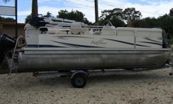 50HP Evinrude Etech, Bimini, Custom mooring cover, Color depth/fishfinder, 2 anchors, bouys, coast guard safety pack, extra battery, 2008 single axle Road King Trailer. Owner's Books.