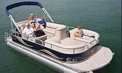 "The new LS PROMOTIONAL model is made for those who want to get a quality boat at a great value. We combine some of Avalon's nicest features - Plush Matrix 50 furniture, 25"" pontoons, 8 1/2 wide body, 10' bimini top, 28 ounce Escalade carpet & radius front"