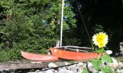 This is a Hobie fourteen mast if you need one. I have a spare boom from a H-14 and H-16 boat as well.email or call me at (602) 622-3777Listing originally posted at http